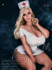 156cm(5.12ft) Artificial Sex Doll With The Built-in Intelligent Voice Chip Which Can Emit Different Moan According To The Sex Action
