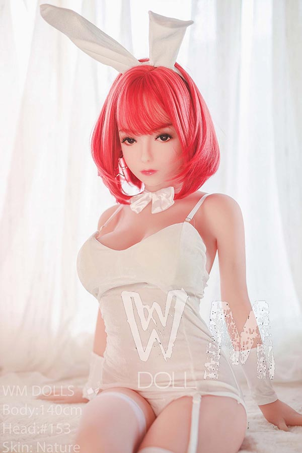 140cm(4.59ft) Tiny Anime Sex Doll And Cat Sex Doll
