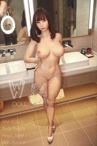156cm(5.12ft) Realistic Teen Sex Doll With Maiden Face But Milf Sexy Body That Has Big Round Butt And Fair Tits Is Really Fascinating