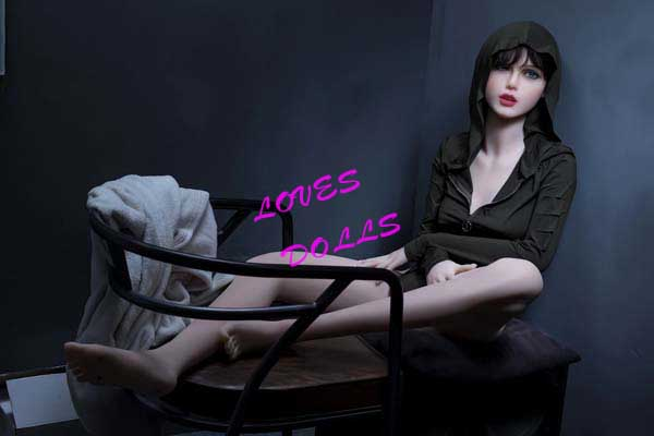 158cm ( 5.181ft ) Lifelike sex doll with very beautiful face soft body small medium firm breasts European white skin sexy milf wear Sexy man outfit Lifelike Oral Vagina Pussy Anal love doll sex doll YW-46