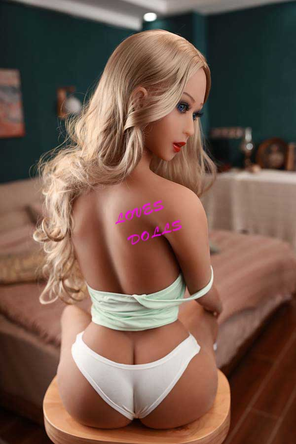 158cm ( 5.181ft ) Lifelike Sex Doll With Pretty Face Soft Body Firm Breasts	Blonde Latina Tan Skin Blue Eyes Sexy Girl Wear	Sexy Stockings And Sexy Bikini Lifelike Oral Vagina Pussy Anal Love Doll YW-53