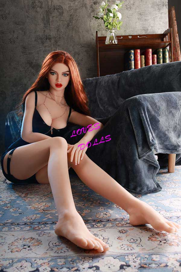169cm Full Size Lifelike sex doll with Big Ass Medium Breast Kelt redhead Hot Lady Lesbian Lifelike Oral Vagina Pussy Anal Adult love doll WM Adult sex doll