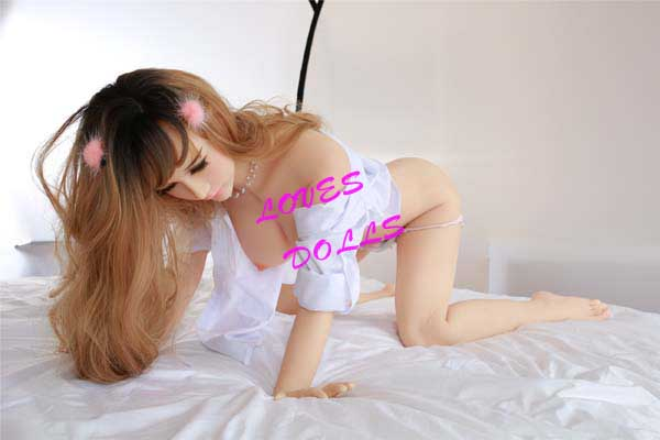 158cm ( 5.18ft ) Full Size Sex Doll With Pretty Face Soft Body Busty Breasts Bouncy Butt Japanese Actress Milf With White Skin Wear Sexy lingerie Pajamas Lifelike Oral Vagina Pussy Anal Love Doll YW-58