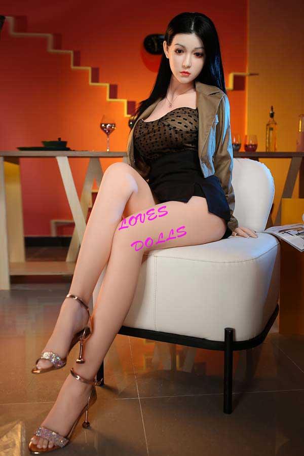 170cm Sex Dolls Japanese lady Milf hot lady Sexy skirt Medium Breast Realistic Adult Vagina Oral Anal Adult Toys-YW-3