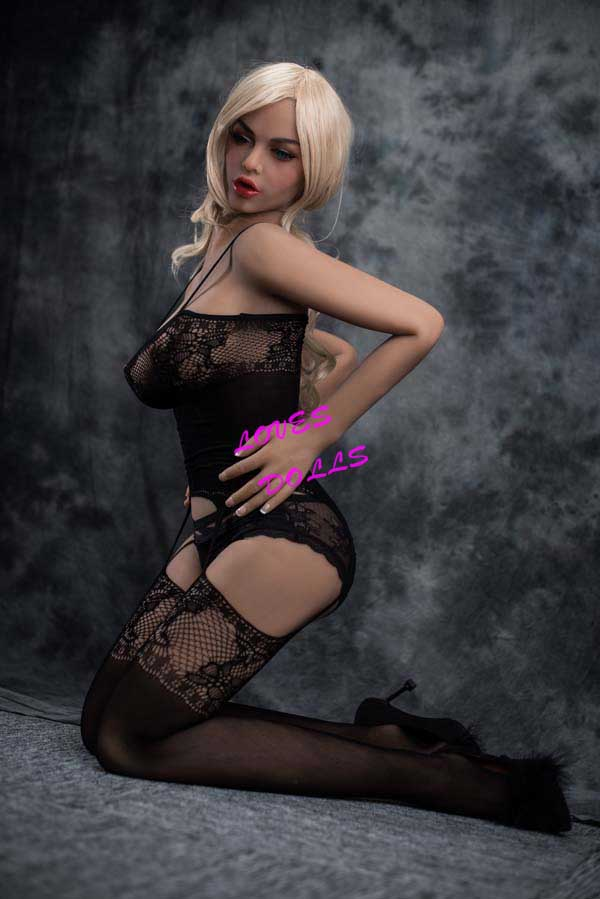 158cm ( 5.181ft ) Full Size milf sex doll with beautiful silender body small breasts Blonde sexy whore wear Sexy stockings Transparent underwear Lifelike Oral Vagina Pussy Anal love doll sex doll YW-42