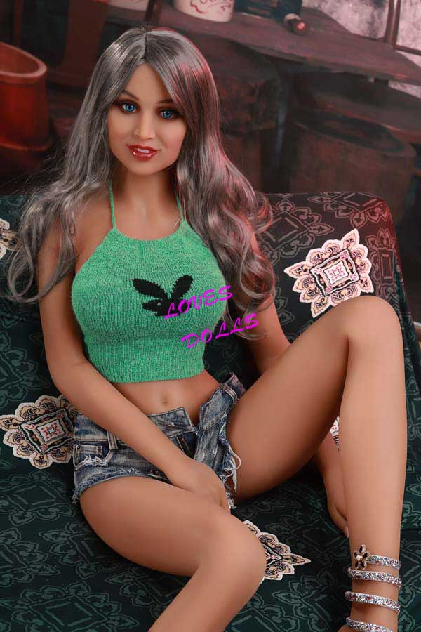 166cm ( 5.51ft ) Realistic sex doll with Slim Sex Body Big Ass beautiful chest Mixed Blood Tan skin European hot girl wear Sexy shorts Lifelike Oral Vagina Pussy Anal love doll sex doll YW-24