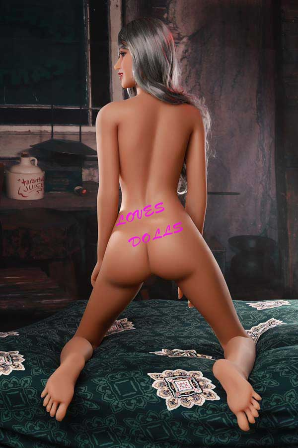 166cm ( 5.51ft ) Realistic sex doll with Slim Sex Body Big Ass beautiful chest Mixed Blood Tan skin European hot girl wear Sexy shortsLifelike Oral Vagina Pussy Anal love doll sex doll YW-24