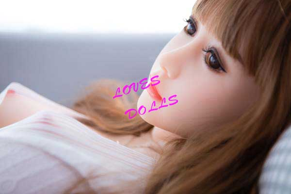 156cm ( 5.12ft ) Full Silicone Sex Doll With Pretty Face Soft Body Soft Breast Buttocks Japanese Pretty Love Film Star With Delicate Skin Wear Sexy One-Piece Dress Lifelike Oral Vagina Pussy Anallove doll YW-65
