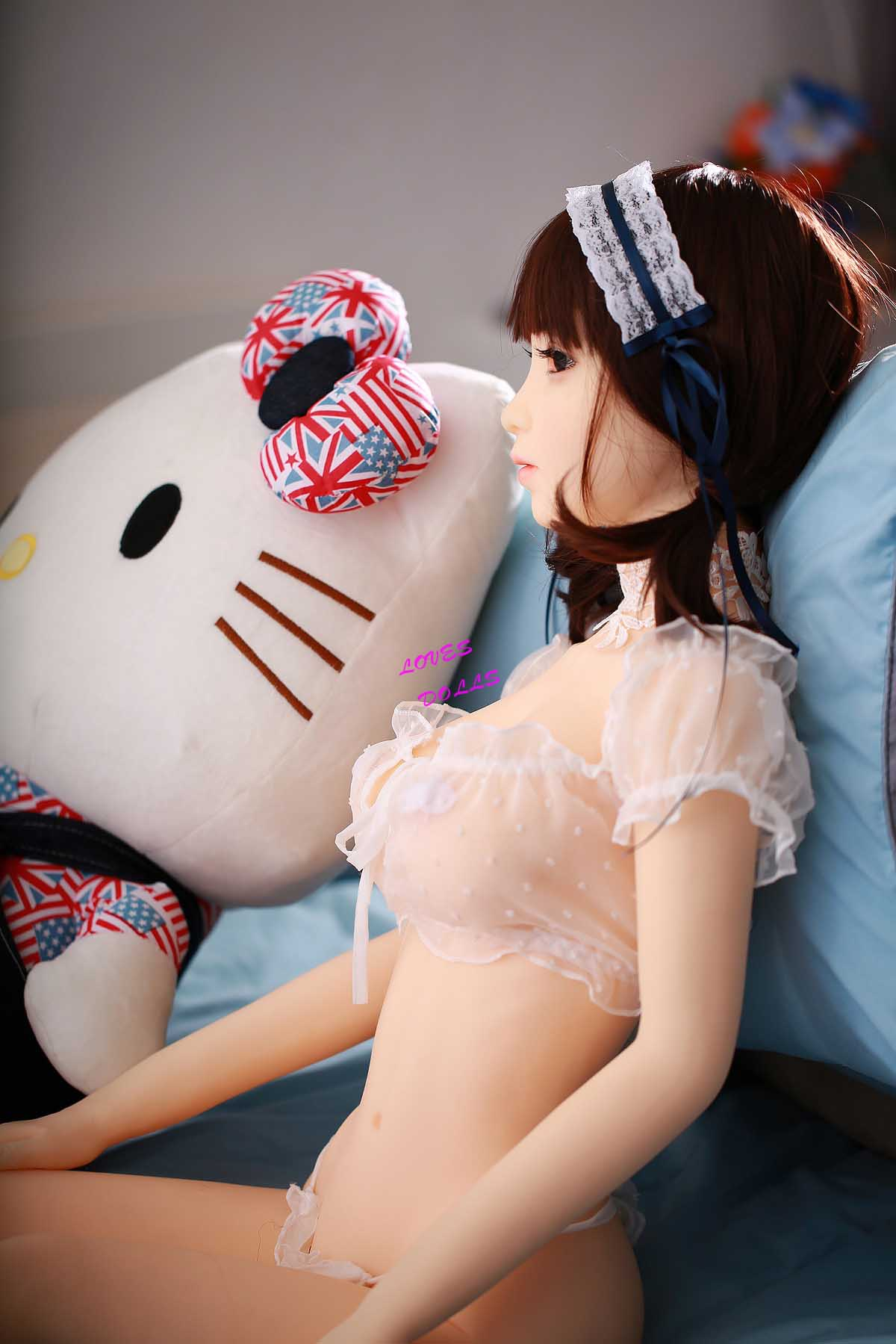 125cm(4.10ft) Super Busty Breasts And Ass Sex Doll With Beautiful Chubby Body Huge Bust Plump Booty Kelt Milf With White Smooth Skin Sexy Underwear True To Nature Pussy Vagina Anal Oral love doll sex doll YW-100