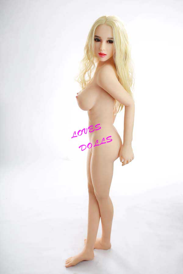 156cm ( 5.12ft ) Life Size Sex Doll With Pretty Cheeks Soft Breasts Bouncy Butt Mixed Blood Pretty Whore With Tender White Skin Wear Sexy Short Silver Gray Frock And Bikini Lifelike Oral Vagina Pussy Anal Love Doll YW-69