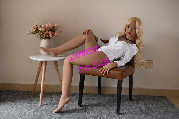 156cm ( 5.12ft ) Full Silicone Sex Doll With Pretty Face Slender Body Beautiful Breasts Slav Mixed Blood 16 Years Old Girl With Tender Tan Skin Wear Sexy Bodysuit Lively Oral Vagina Pussy Anal love doll YW-72