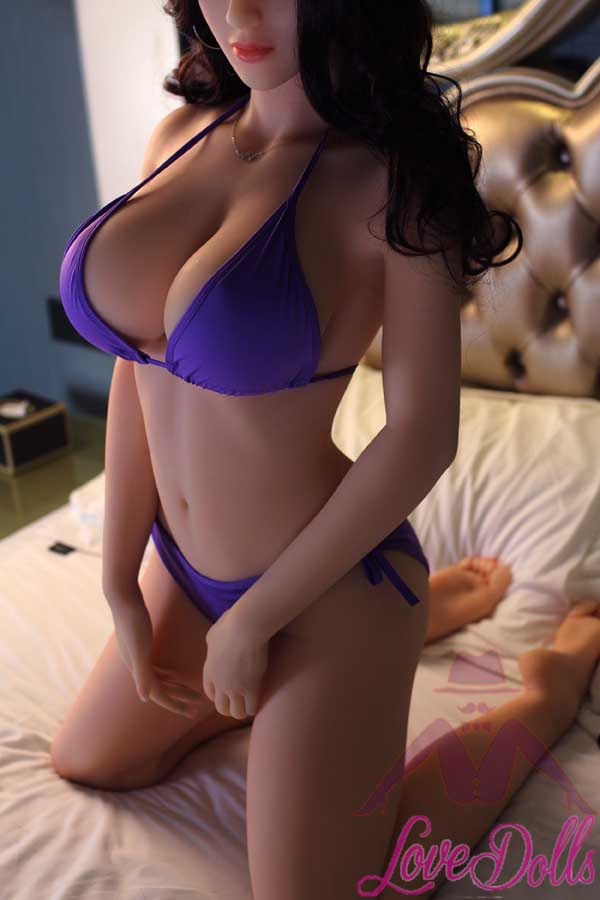 161cm(5.28ft) BBW Sex Doll Wear Sexy Bikini WIith Pretty Figure