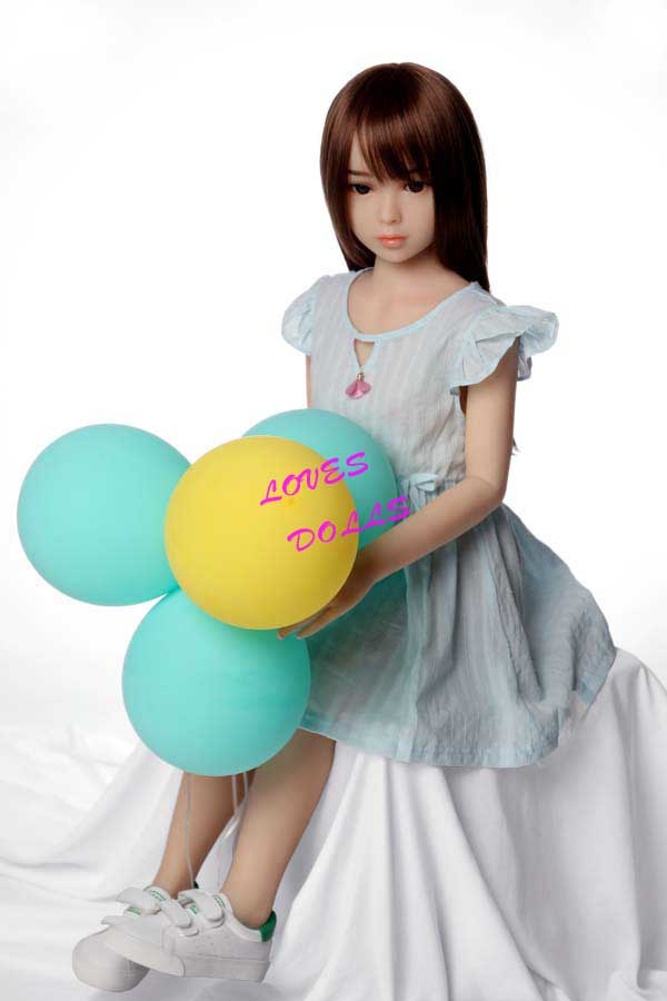 100cm(3.28ft) Japanese Young girl Sex Doll Pretty Figure Sex Doll Flat Breast Sex Doll Pink Nipples Sex Doll Mini Sex Doll With White Skin Love Doll Wear Sexy Dress Realistic Pussy Sex Doll Beautiful Oral Anal Vagina YW-111