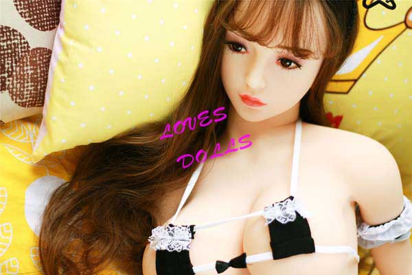 148cm(4.86ft)Full Silicone Sex Doll With Pretty Face Slender Body Very Firm Breasts Bouncy Butt Korean Young Girl White Skin Wear Sexy Bikini Pink Pussy Lively Oral Vagina Anal Love Doll YW-80