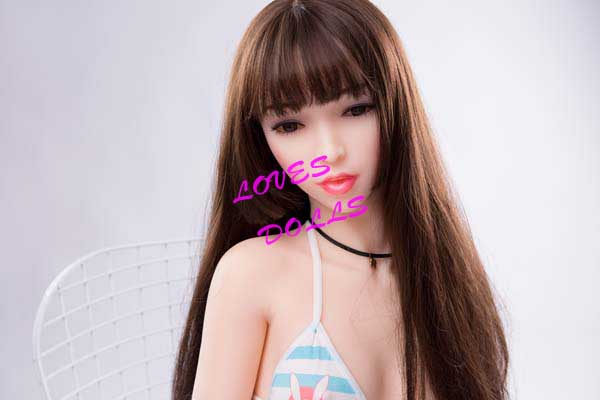145cm(4.76ft)Realistic Sex Doll With PrettyFace Wasp Waist Soft Smooth Breasts Bouncy Butt Big Ass Chinese Pretty Film Star Delicate White Skin Wear Sexy Lingerie Pink Pussy Lively Oral Vagina Anal Love Doll YW-84