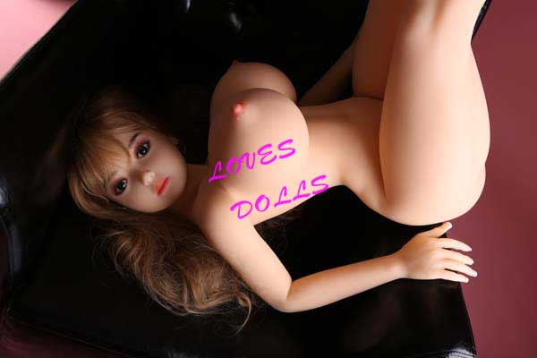 128cm(4.20ft) Super Hot Massive Tits Chest Sex Doll With Beautiful Chubby Body Huge Bust Plump Booty Japanese Pretty Love Film Star White Smooth Skin Wear Sexy stockings And sexy underwear True To Nature Pussy Vagina Anal Oral love doll sex doll YW-99