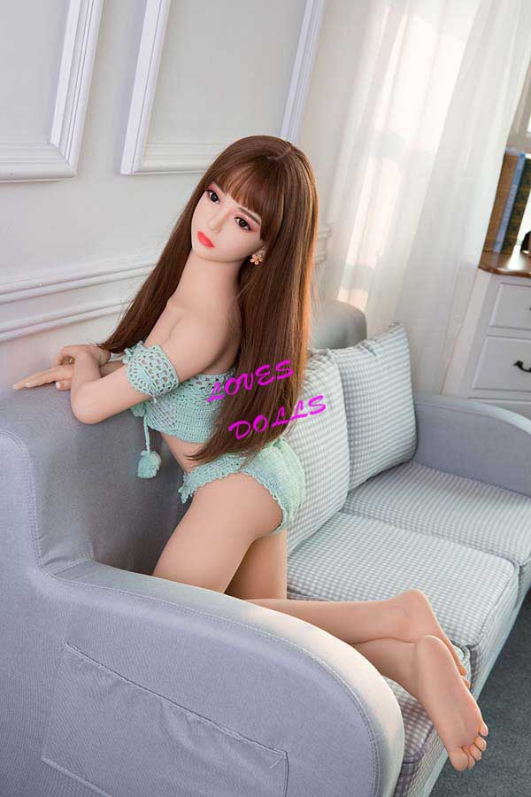 130cm(4.27ft)	Top 10 Best Mini Sex Dolls With Multifunctional 304 Metal Skeleton And Pretty Body Beautiful face Flat Chest White Buttocks Japanese maid With Smooth And Delicate Skin Wear Sex Knitted Underwear Realistic Pussy Vagina Oral Anal Love Doll YW-97