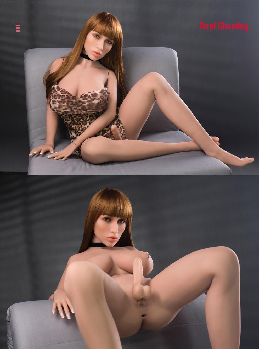 156cm(5.12ft) Transgender Sex Doll And Hermaphrodite Sex Doll