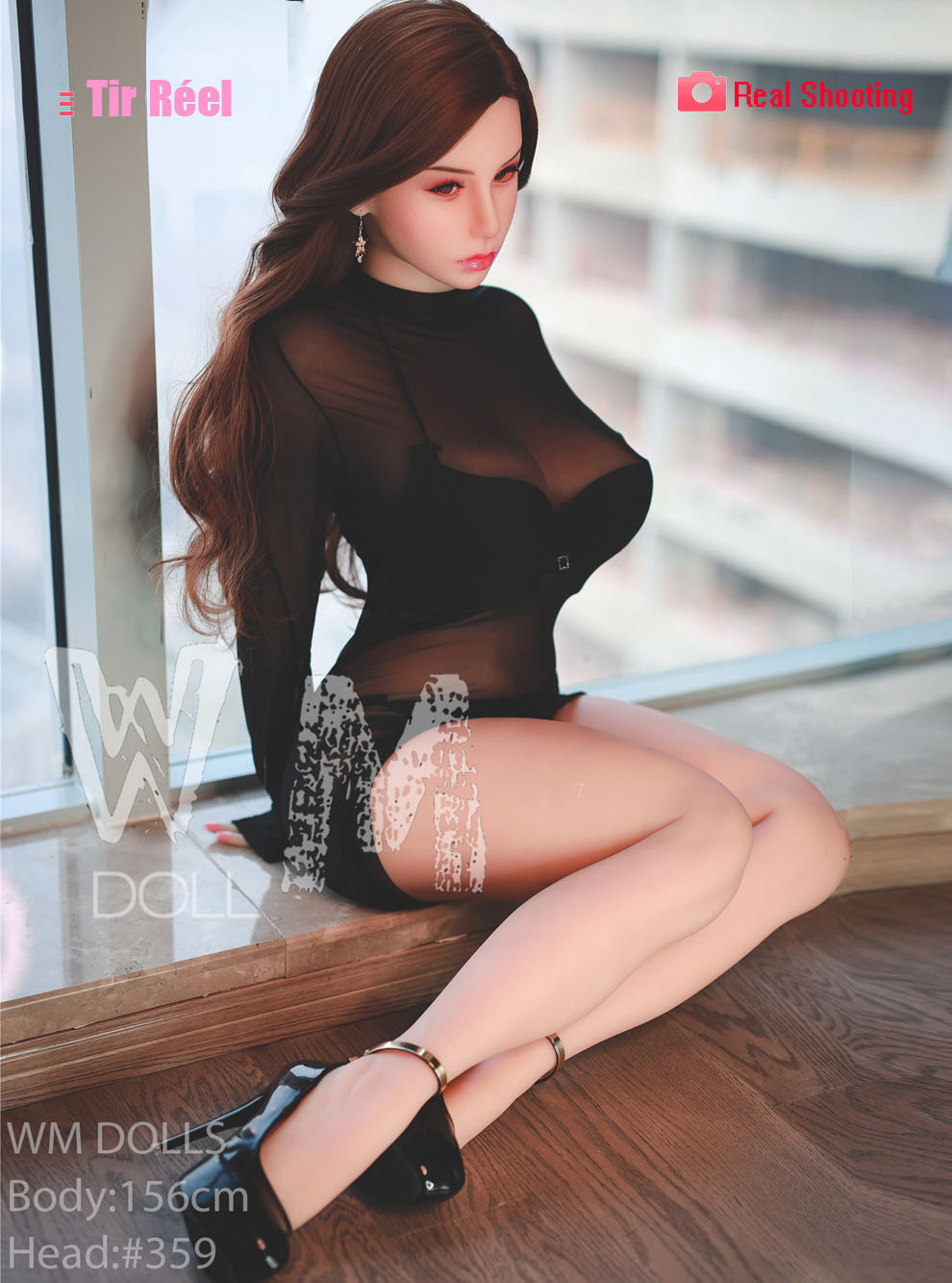 156cm(5.12ft) Realistic Japanese Sex Doll Made According To The Real Japanese Blue Movie Actress That Has Pink Nipples Fair Skin Which Is Really Sultry