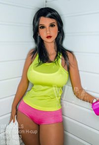 156cm(5.12ft) Best Lifelike Sex Dolls With Latina Maiden Pretty Face Light Tan Skin Rippling Tits And Irresistible Pussy Are Really Sensuous